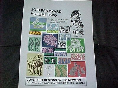 Jo's Farmyard Volume 2 - Farm Patterns for punch card & electronic Machines