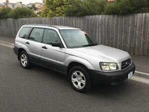 2004 SUBARU FORESTER X AWD (FOUR CYLINDER MANUAL) North Hobart Hobart City Preview
