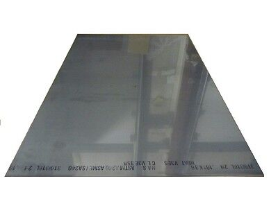 316 Stainless Steel Sheet Annealed .105 Thick X 24 Wide X 36 Length 1 Unit