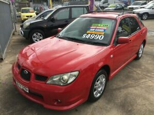 2006 Subaru Impreza S Hatchback 5dr Man 5sp AWD 2.0i [MY06] Red Manual Hatchback