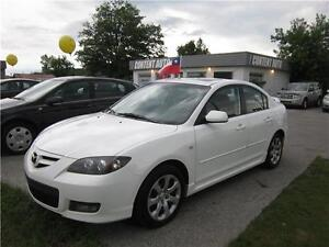 2008 Mazda Mazda3 Gt 5vit  tout equipéTOIT OUVRANT FINANCEMENT