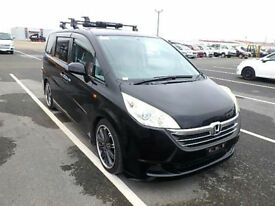 FRESH IMPORT LATE 2006/11 HONDA STEPWAGON 2.0 G L PKG AUTOMATIC BLACK 8 SEATER