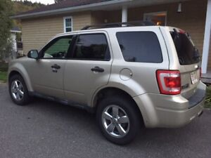 2010 Ford Escape - with MVI and Winter Tune-up done Oct 2019