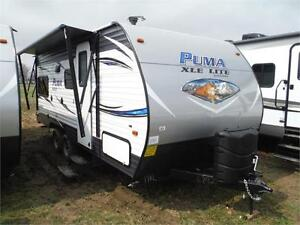 2018 Puma XLE 19RLC Ultra Lite Travel Trailer- only 4000LBS!!