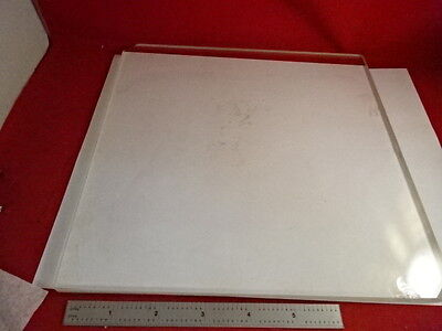Huge Glass Stage Olympus Microscope Part Optical Optics As Pictured 86-68