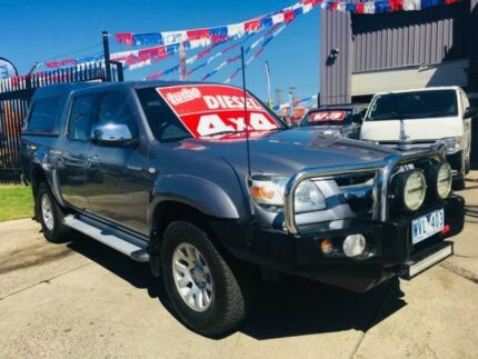 2009 Mazda BT-50 09 Upgrade Boss B3000 SDX (4x4) 5 Speed Automatic Dual Cab Pick-up Brooklyn Brimbank Area Preview