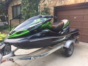 2013 Kawasaki Ultra 300 Jet Ski and Triton Trailer