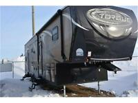 2015 TORQUE 325 TQ FIFTH WHEEL TOY HAULER
