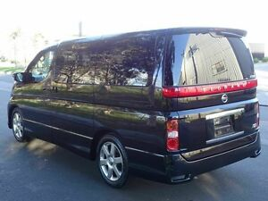 2008 Nissan Elgrand E51 Ser.3 Highway Star Black 5 Speed Tiptronic Wagon Taren Point Sutherland Area Preview