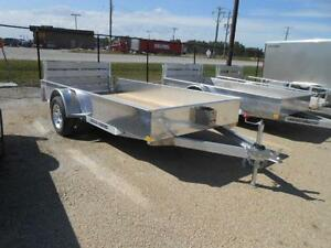 2016 Stronghaul 66X12 Solid Side Utility Trailer