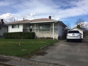 Affordable rancher with a basement in Chilliwack
