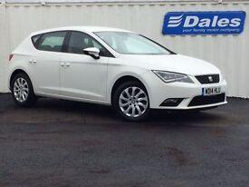 Seat Leon 1.2 TSI SE 5Dr DSG [technology Pack] Hatchback (white) 2014