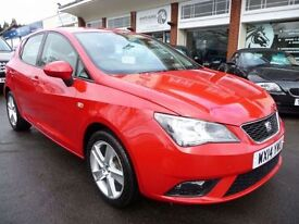 SEAT IBIZA 1.4 TOCA 5d 85 BHP NOW REDUCED BY £500! (red) 2014