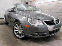2011 Volkswagen Eos CONVERTIBLE CUIR TOIT OUVRANT 75,000KM