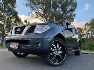 2006 Nissan Pathfinder R51 ST-L Blue 4 Speed Automatic Wagon Kingston Logan Area Preview