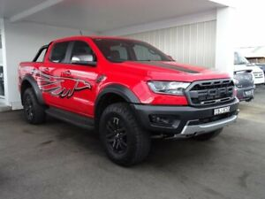2018 Ford Ranger PX MkIII 2019.00MY Raptor Pick-up Double Cab Red 10 Speed Sports Automatic Utility Albion Park Rail Shellharbour Area Preview