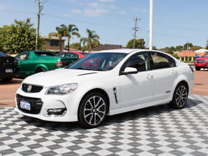 2016 Holden Commodore VF II MY16 SS V Heron White 6 Speed Sports Automatic Sedan