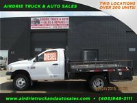 2008 Dodge Ram 3500 SLT Reg Cab Flat Deck 8FT Box Diesel