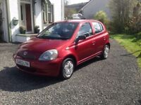 2003 Toyota Yaris 1.0 Litre Colour Collection Very Cheap To Run And Insurance Long Mot Hpi Clear