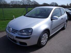 VOLKSWAGEN GOLF S - FSH Silver Manual Petrol, 2004