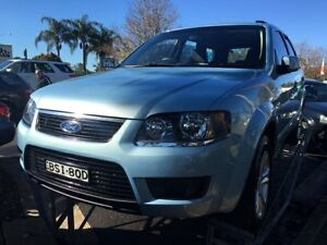 2009 Ford Territory SY Mkii TX (RWD) Blue 4 Speed Auto Seq Sportshift Wagon Campbelltown Campbelltown Area Preview