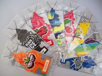 New 864 Little Trees Air Freshener Choose from 24 Flavours - Hanging Car & Home
