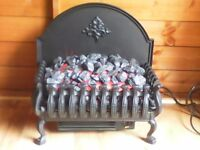 Burley cottesmore cast iron electric fire