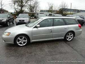 2007 SUBARU LEGACY WAGON AWD 5 SPEED FULLY LOADED