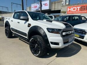 2016 Ford Ranger PX MkII XLS Double Cab White 6 Speed Sports Automatic Utility Granville Parramatta Area Preview