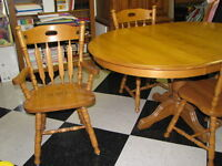 gorgeous dining table set solid birch