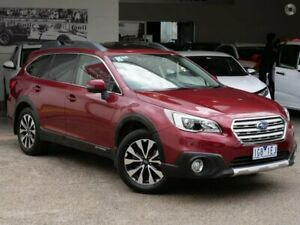 2015 Subaru Outback B6A MY15 2.5i CVT AWD Premium Red 6 Speed Constant Variable Wagon Doncaster Manningham Area Preview
