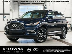 2017 Infiniti QX60 3.5 All-wheel Drive with Premium, Deluxe Tour