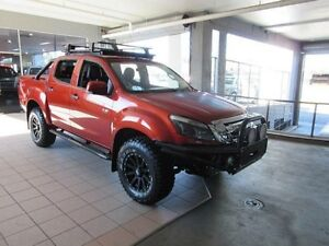 2016 Isuzu D-MAX TF MY15 LS-M HI-Ride (4x4) Venetian Red 5 Speed Automatic Crewcab Thornleigh Hornsby Area Preview