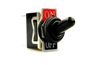 Kippschalter ON/OFF 12 / 24 Volt Schalter Kill Switch Auto Boot KFZ 12V 8135