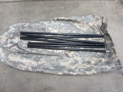 Military ICS ORC Improved Combat Shelter One Man Tent Pole 7 Section w/Bag