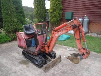 KUBOTA Tractor/back hoe