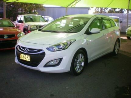 2014 Hyundai i30 GD Tourer Active 1.6 CRDi White 6 Speed Automatic Wagon Heatherbrae Port Stephens Area Preview