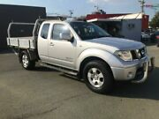 2009 Nissan Navara D40 ST-X (4x4) Silver 6 Speed Manual King Cab Chassis Southport Gold Coast City Preview