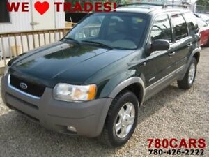2002 Ford Escape XLT Leather - 4WD - SUNROOF - HEATED SEATS