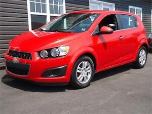 2012 Chevrolet Sonic LT, ONLY 60KM, AUTO, AIR, SWEET