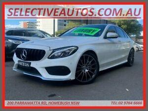 2015 Mercedes-Benz C200 205 MY16 White 7 Speed Automatic Sedan Homebush Strathfield Area Preview
