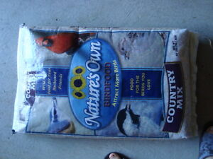 5 bags of seeds for birds- for sale.