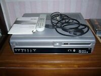 BUSH DVHRS02 COMBINED DVD & VCR VIDEO RECORDER / PLAYER Southbourne