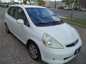 2008 Honda Fit LX 5-SPEED MANUEL VERY GOOD ON GAS ACCIDENT FREE