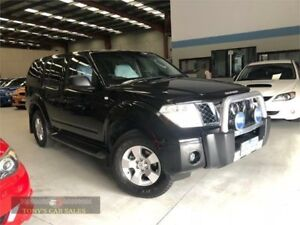 2006 Nissan Pathfinder R51 ST Black Sports Automatic Wagon