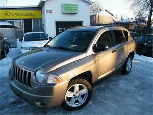2007 JEEP COMPASS SPORT 4X4 FINANCEMENT DISPONIBLE