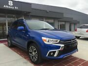 2017 Mitsubishi ASX XC MY18 LS 2WD Blue 6 Speed Constant Variable Wagon Fyshwick South Canberra Preview
