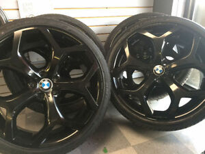 4 New | BMW X5 or X6 | 22 Inch Tires and Wheels