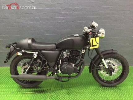 2017 braaap Mercury ST250 Mercury (ST250) Road Manual 5sp 250cc