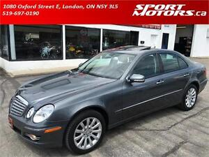 2008 Mercedes-Benz E300 4MATIC! Navigation! Leather! Sunroof!